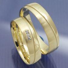 Trauringe Eheringe aus Gelbgold aus der Serie Pure Modell Traun P3071734