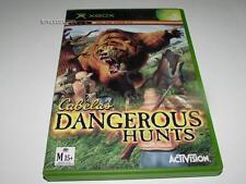 Cabela's Dangerous Hunts Xbox Original PAL  *Complete*