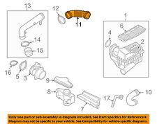 VW VOLKSWAGEN OEM CC Air Cleaner Intake-Connector Pipe Hose Duct Tube 1K0129684L