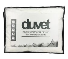 KING Size 13.5 Tog DUCK FEATHER DOWN DUVET Fluffy Soft Anti Allergy -15% Down