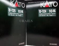 KATO 'N' GAUGE 10 SERIES SLEEPER EXPRESS 'TAISETSU' 12 CAR SET (U23)