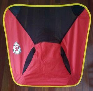 KANSAS CITY CHIEFS Logo Packable Portable Chair NFL Travel Tailgate