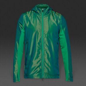 £150 BNWT Rare Nike Shield Hyper Elite Revolution Men's Hooded Jacket Rio Teal S