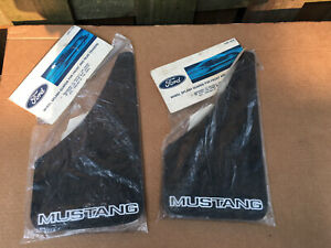 vintage original ford mustang 1966 splash guards NIB new sealed two sets OEM
