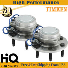 2 Timken Front Wheel Bearing &Hub for 07-13 Chevy Silverado GMC Sierra 1500 2WD