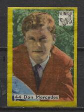 Don Mercedes Vintage 1960s Matchbox Label No.44
