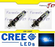 CREE LED 30W H1 BLUE 10000K TWO BULB HEAD LIGHT JDM OFF ROAD FIT REPLACEMENT FOG