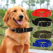 Big Dog Collar Golden Retriever Rottweiler For Large Dog Strong Nylon Dog COLLAR