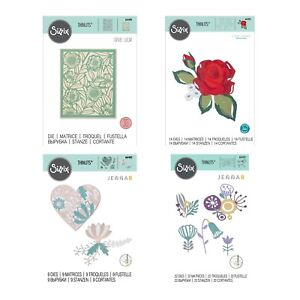 Sizzix Thinlits - Chapter 4 Floral Must Haves Die Collection