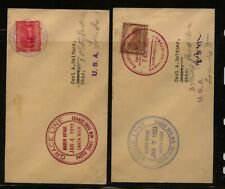 Colombia and Costa Rica Grace Line covers Kl0225