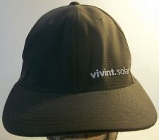 Vivint.Solar Gray Adjustable Baseball Hat Cap Flexfit Size L - XL
