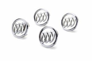 4x For Buick Car Wheel Rim Center Covers Hub Caps Emblems Badges Auto Styling