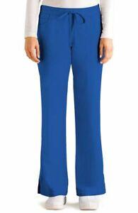 "Grey's Anatomy #4232 Elastic Drawcord Waist Scrub Pant in ""Royal"" Size M"