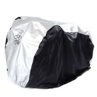 New Waterproof Dual 2 Bike Bicycle Scooter Rain Dust Snow Sun Cover Storage Bag