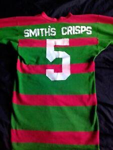 Vintage South Sydney Rabbitohs Smiths Crisps Jersey 1989 No. 5