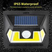 54LED Lampada Solare con Sensore di Movimento Faretto Esterni da Giardino