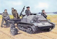 PZ.KPFW TKS (p) WITH MG-15 & TRAILER (GERMAN WEHRMACHT MKGS) 1/35 MIRAGE RARE!