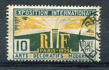 FRANCE 1924/25, timbre 210, ESPOSITION ARTS DECORATIFS, oblitéré
