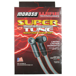 MADE IN USA Moroso Super-Tune Spark Plug Wires Custom Fit Ignition Wire Set 9682