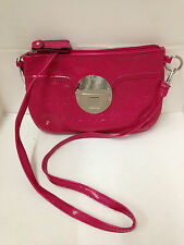 NEW! XOXO LADY RESERVE FUCHSIA PINK CROSSBODY MESSENGER SLING BAG PURSE $49 SALE