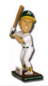 MLB Mark Mcgwire Bobblehead A's vs Dodger's