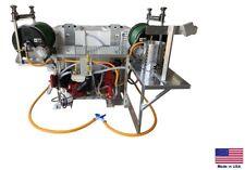 Sprayer Commercial Skid Mounted 10 Gpm 500 Psi 300100 Gallon Split Tank