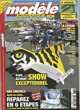MODELE MAG N°730 PLAN : VERTI 4+ / REPAREZ  CRASH EN 6 ETAPES / SPACEWALKER 120