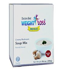 Doctors Best Premium - Creamy Mushroom High Protein Diet Soup