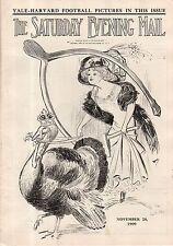 1909 Saturday Evening Mail November 20-Alaska; Metropolitan Opera; Yale Football