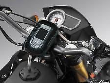 PORTA NAVIGATORE GPS TELEFONO IPOD MOTO SCOOTER IMPERME ATTACCO MANUBRIO E VELCR