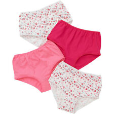 f9582801ada7 Ladies Just Essentials 4 Pack Cotton Floral Print High Waist Full Briefs 10-26  Coral