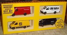 LLEDO- 4 PIECE EMERGENCY SERVICES FORD TRANSIT SET INC FIRE/POLICE/AMBULANCE/ AA