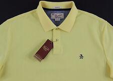 Men's PENGUIN Yellow / Lemon Polo Shirt Small S NWT NEW Classic Fit Nice!