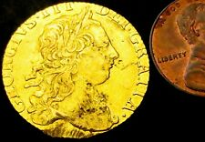V513: 1773 George III Full GOLD GUINEA. 8.34g of 22ct Gold. Spink 3727