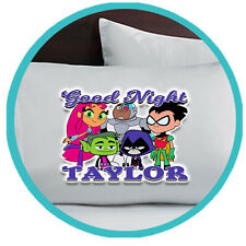Teen Titans Go Pillowcase Pillow Case Gift Gifts Merchandise Merch Bedding Kids