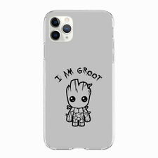Baby Groot Guardians of the Galaxy soft case cover for phone models capa coque