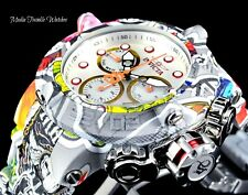 50MM Invicta Men's THE SUBAQUA GRAFFITI Hydroplated Swiss Quartz Bracelet Watch