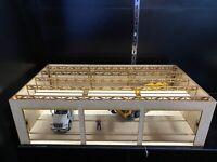 1/50 3 Bay Shop Building for Grove Liebherr Cat Deere Peterbilt Dealer Diorama