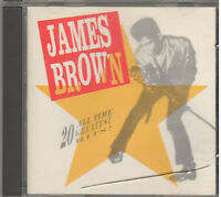 20 ALL TIME GREATEST HITS BY JAMES BROWN (CD, 1991, Polydor)