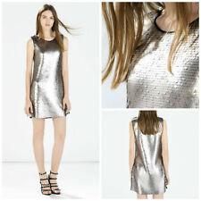Polyester Tunic Regular Size Zara Dresses for Women