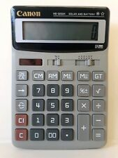 Canon Solar and Battery Calculator Model HS-1200H / 12 Digit HS - 1200H