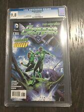 GREEN LANTERN # 8 / The new 52! / CGC Universal 9.8 / June 2012
