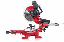 Slide Miter Saw Laser Guidance System Corded Power Tool Red 15 Amp 10 in. New