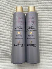 Pantene Hair Biology Silver & Glowing Purple Shampoo 2x 250ml BNandUnused