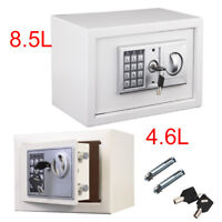Digital Steel Safety Box Safe Electronic Security Keypad Money Cash Home