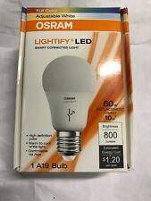 Bulb Led Smart A19 Dim Rgbw, Part 73693, by Sylvania