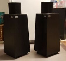 Ohm Walsh 2 Floor speakers Great Vintage look! PERFECT SOUND !TESTED!