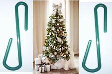150 Ornament Hanger Hooks Christmas Tree Decoration Hanging S Shape Plastic Gree