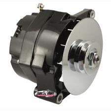 Tuff Stuff Alternator 7102NE; 10DN 100 Amp Black OE-Wire w/ V-Belt Pulley