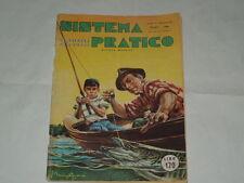 RIVISTA LA SCIENZA PER TUTTI-SISTEMA PRATICO N.6 DI GIUGNO 1956-IMPERDIBILE